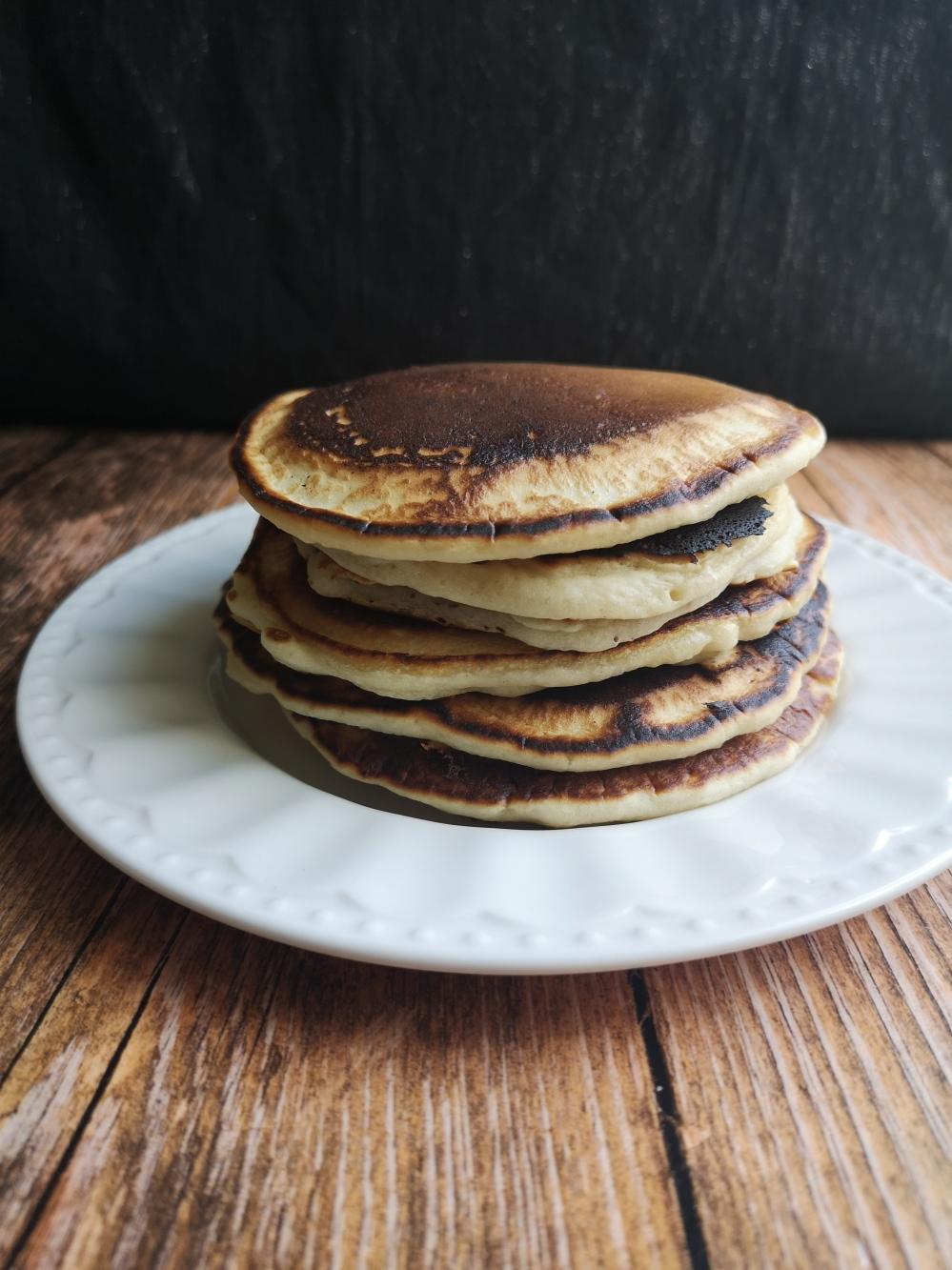 pancakes à l'aquafaba