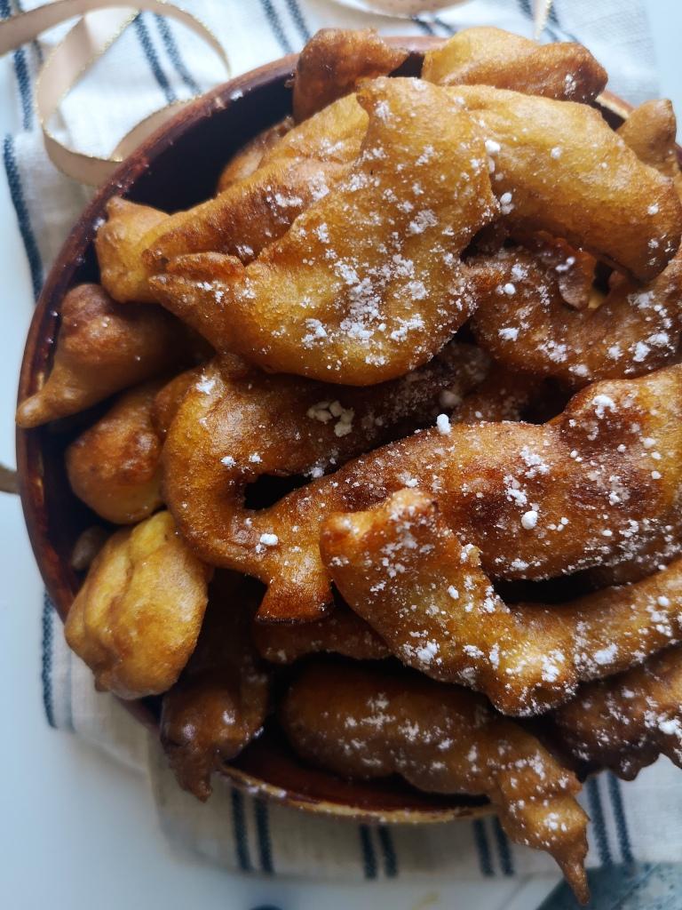 beignets épluchures pommes
